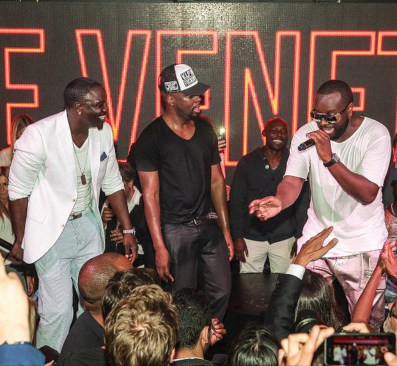 Wyclef, Akon and Maitre Gims