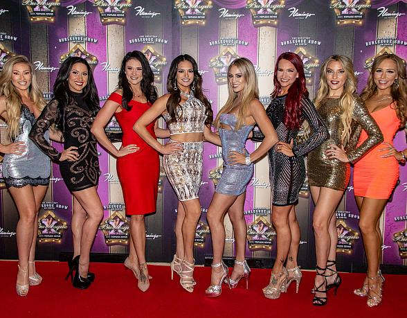 Anthony Cools, Ricardo Laguna, Murray SawChuck, and The Naked Magicians Help X Burlesque Celebrate 17th Anniversary at Flamingo Las Vegas