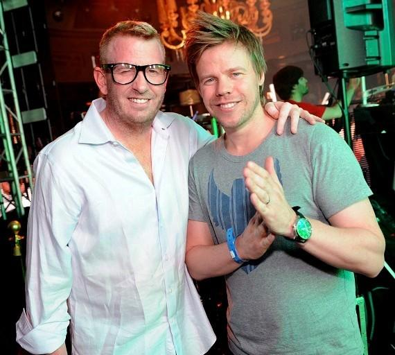 Brad Roulier and Ferry Corsten at XS Nightclub