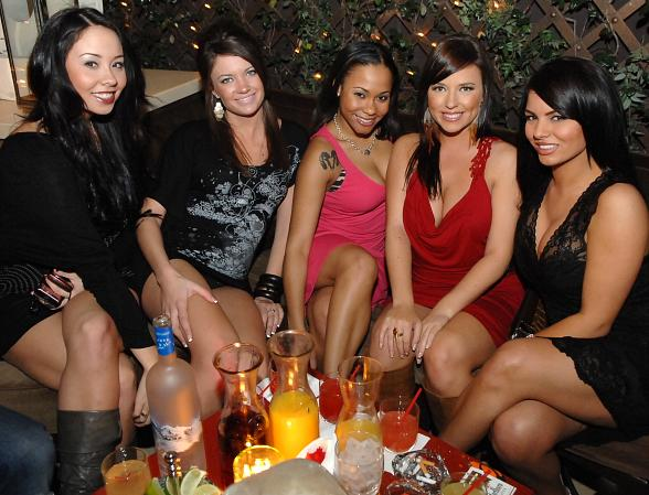 New cast of the Bad Girls Club at Blush