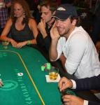 Bradley Cooper at 'The Hangover' Poker Tournament at Caesars Palace
