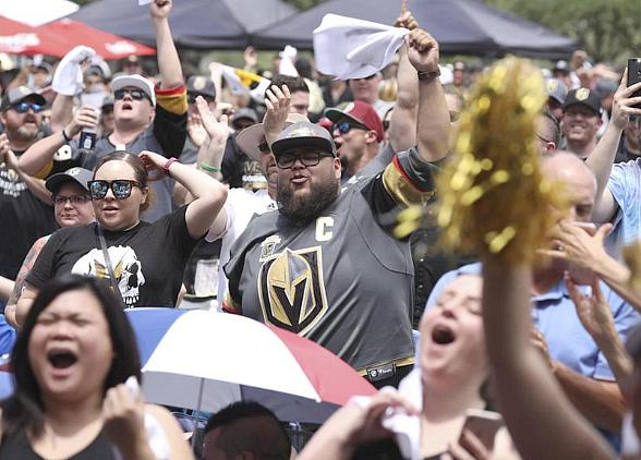 Vegas Golden Knights to Host Official Road Game Watch Parties at Downtown Las Vegas Events Center