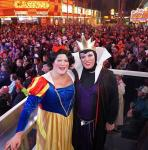 Halloween at the D Casino Hotel Las Vegas Casino with hosts Wilbo and Tyler