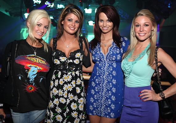 Holly Madison and Playmates