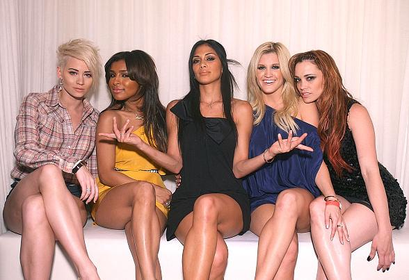 Kimberly Wyatt, MelodyT hornton, Nicole Scherzinger, Ashley Roberts and Jessica Sutta at PURE