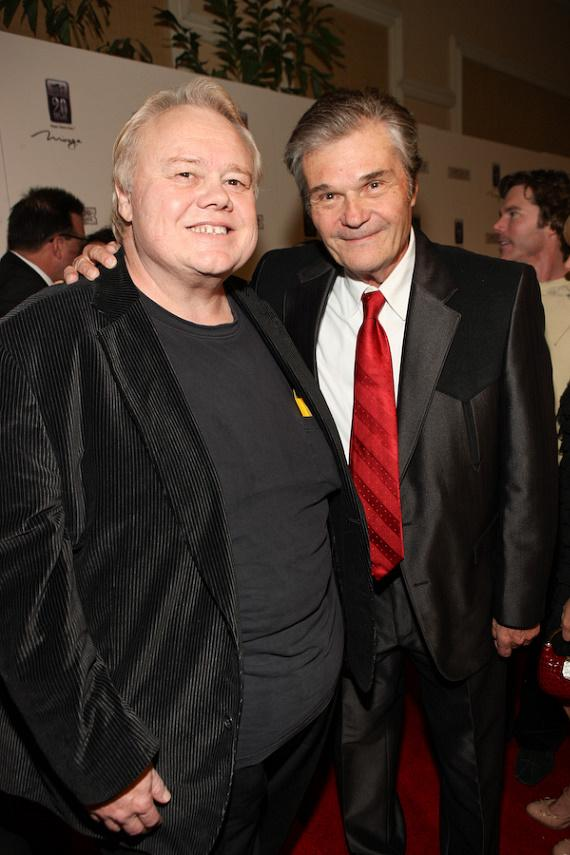 Louie Anderson and Fred Willard