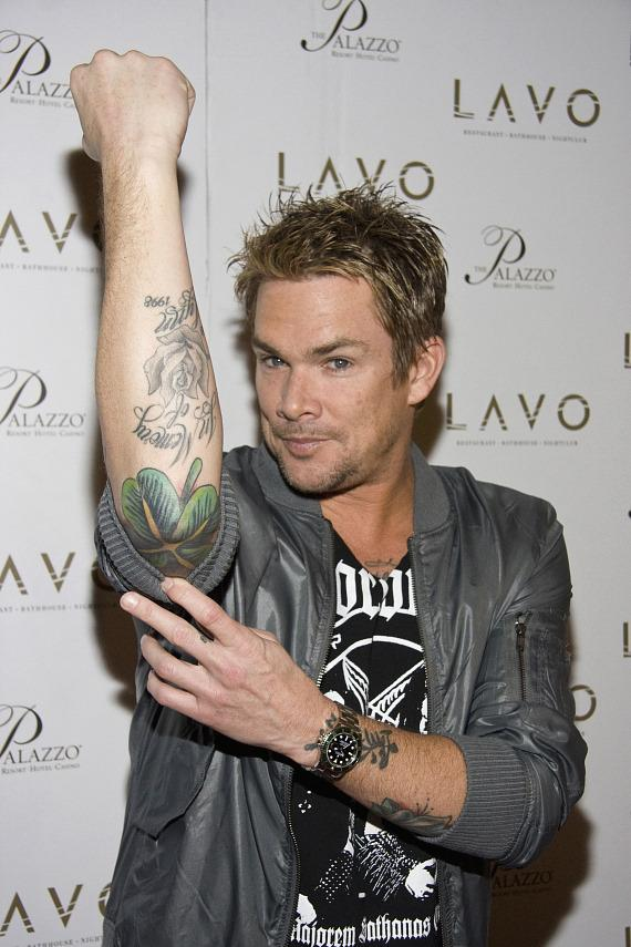 Mark McGrath at LAVO (Photo credit: Aaron Thompson)