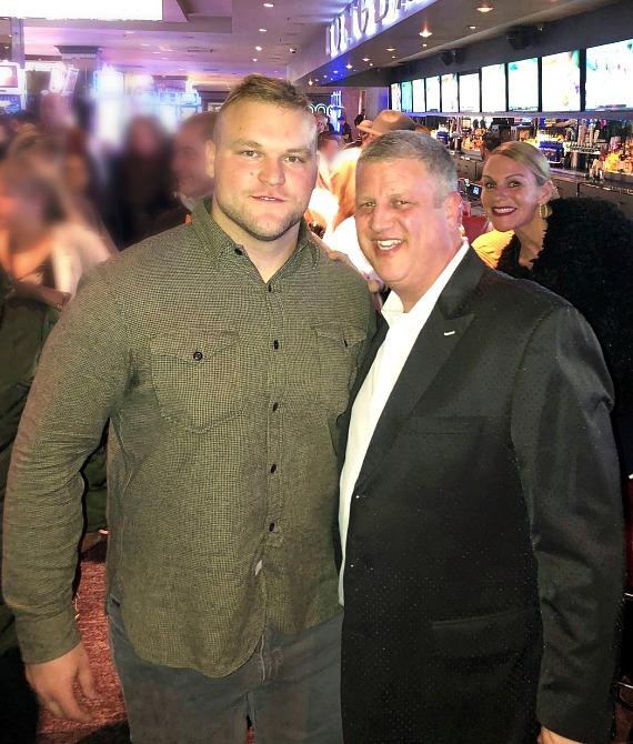 NFL/NHL/UFC Star Athletes Kick Off 2020 at the D Casino Hotel