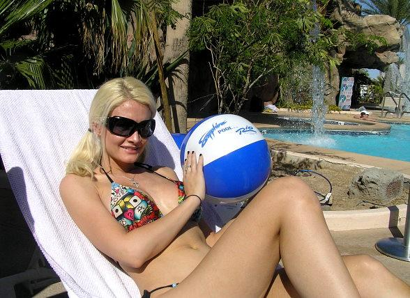 Holly Madison at Sapphire Pool