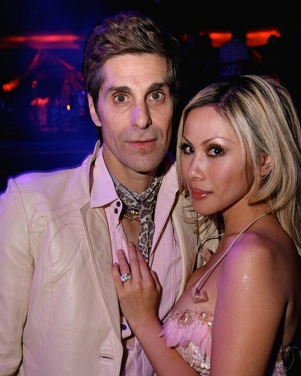 Perry Farrell and Etta Lau Farrell Perform Live at LAX Nightclub