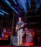 Rob Thomas and his band perform at Downtown Las Vegas Events Center