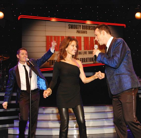 Susan Lucci aka Erica Kane Gets Serenaded by Human Nature in Las Vegas