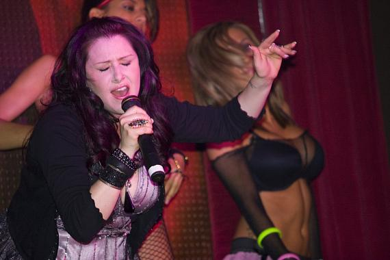 Tiffany performs live at TAO - (Photo credit: Aaron Thompson)
