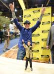Vanilla Ice with Vanilla Ice Doll at NAHB International Builders Show in Las Vegas