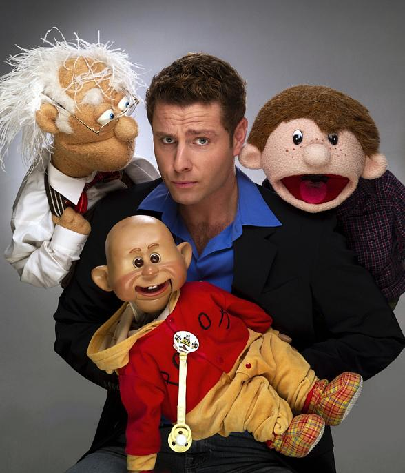 Comedian and ventriloquist Paul Zerdin