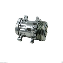 Ac Compressor 1964 Chevy Truck Color Wiring Diagram Mini A C Air Conditioning Hc5005c Sanden Sd