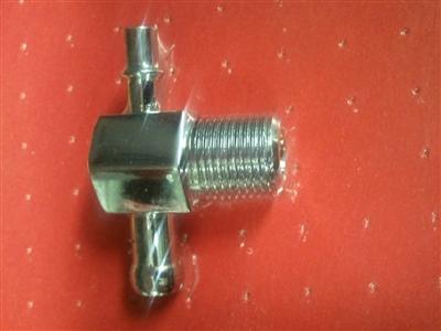 351c Engine Diagram Intake Manifold Vacuum Pipe T Steel Chrome Fitting 3 8