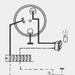 Vdo Tachometer With Hour Meter Wiring Diagram 2001 Jeep Wrangler Radio Performance Instruments Engine Hourmeter Clock