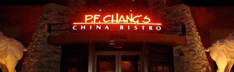 PF Changs Restaurant Las Vegas  Vegas VIP