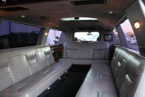 8 passenger Superstretch Limo  Vegas VIP