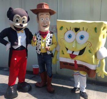 The 3 Amigos on the Las Vegas Strip entertain daily