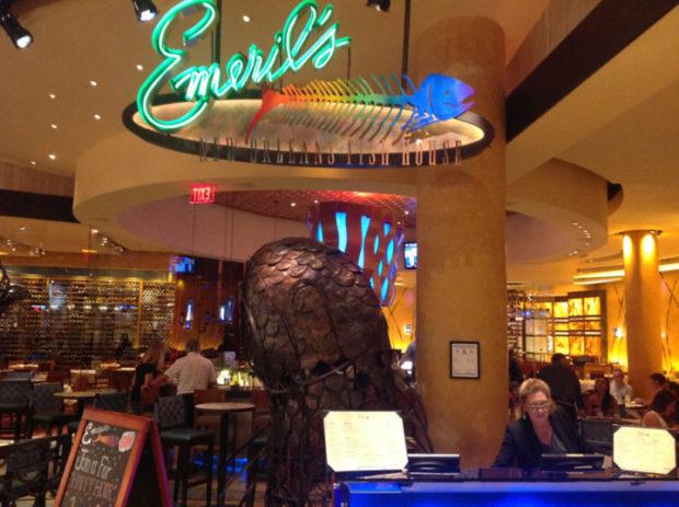 Emiril's Restaurant at the MGM Resort, Las Vegas
