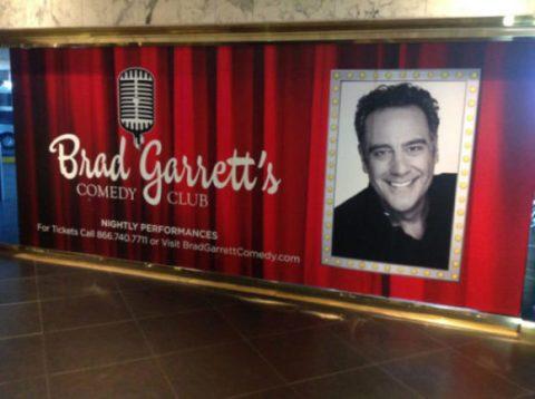 Brad Garrett's Comedy Club, Las Vegas