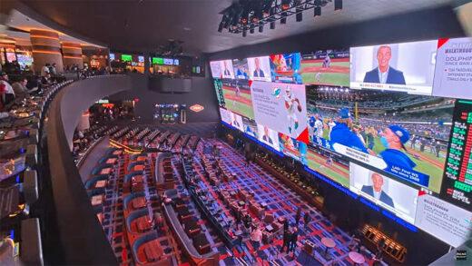 "Las Vegas the ""World's Largest Sports Book"""