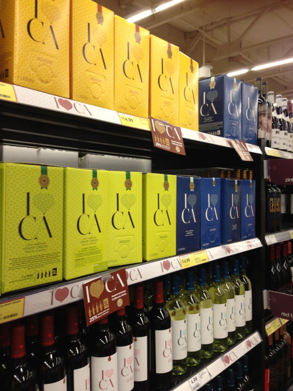 Fresh n Easy Wine Aisle