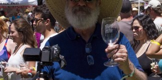 Wineaux Guy at the Festival