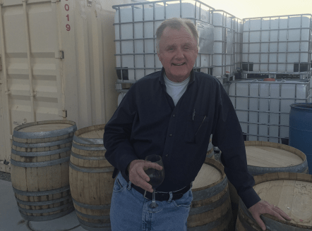 Bill Loken, co-owner of Pahrump Valley Winery
