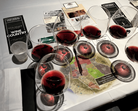 More glasses of Pinot