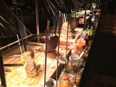 Inside the tasting - food