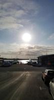 Sun over the ocean!