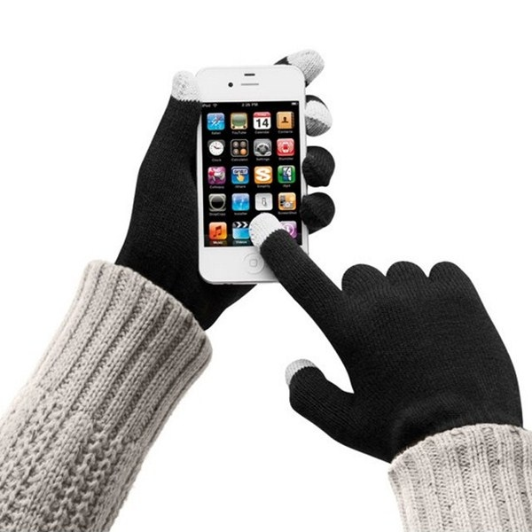 Gants tactiles avec marquage smartphone 00010V0050964