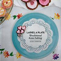 "Buch Titelseite ""Ladies, a plate"""
