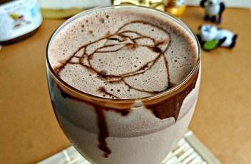 Nutella & Coffee Milkshake