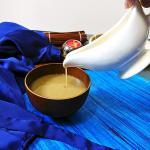 Raab (Traditional Gujarati Sweet Warm Drink)