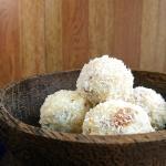 Coconut Ladoo | Coconut Laddu Recipe with Condensed Milk