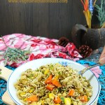 Moong Sprouts Pulao