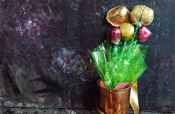 how to make chocolate bouquet