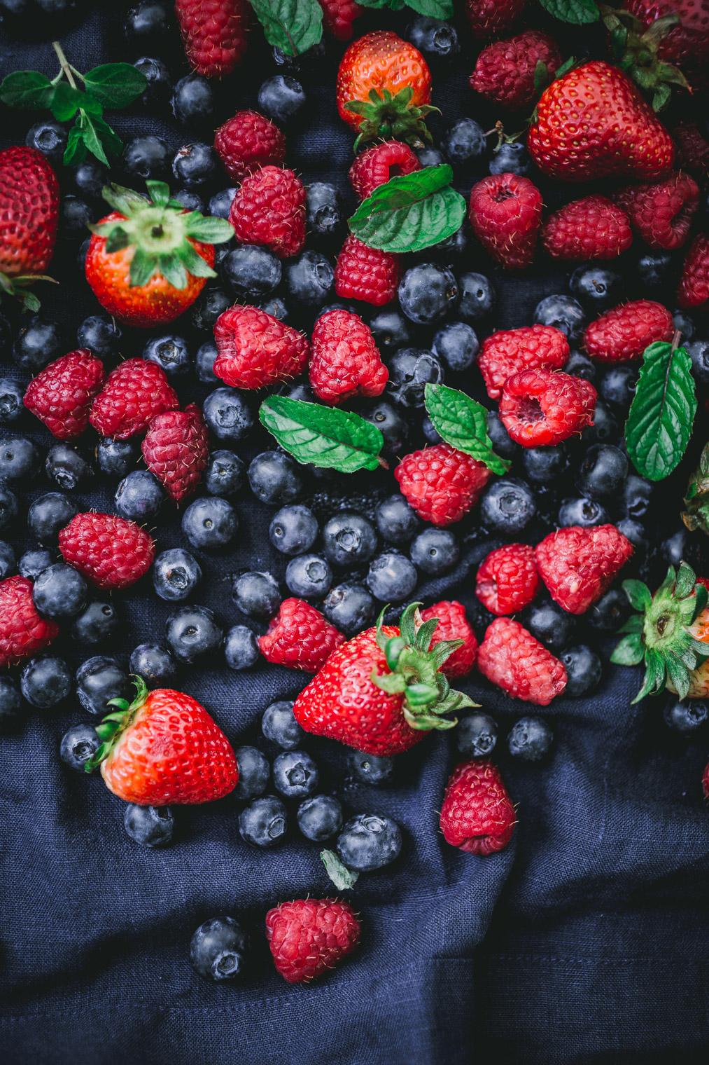fresh fruit for fruit salad