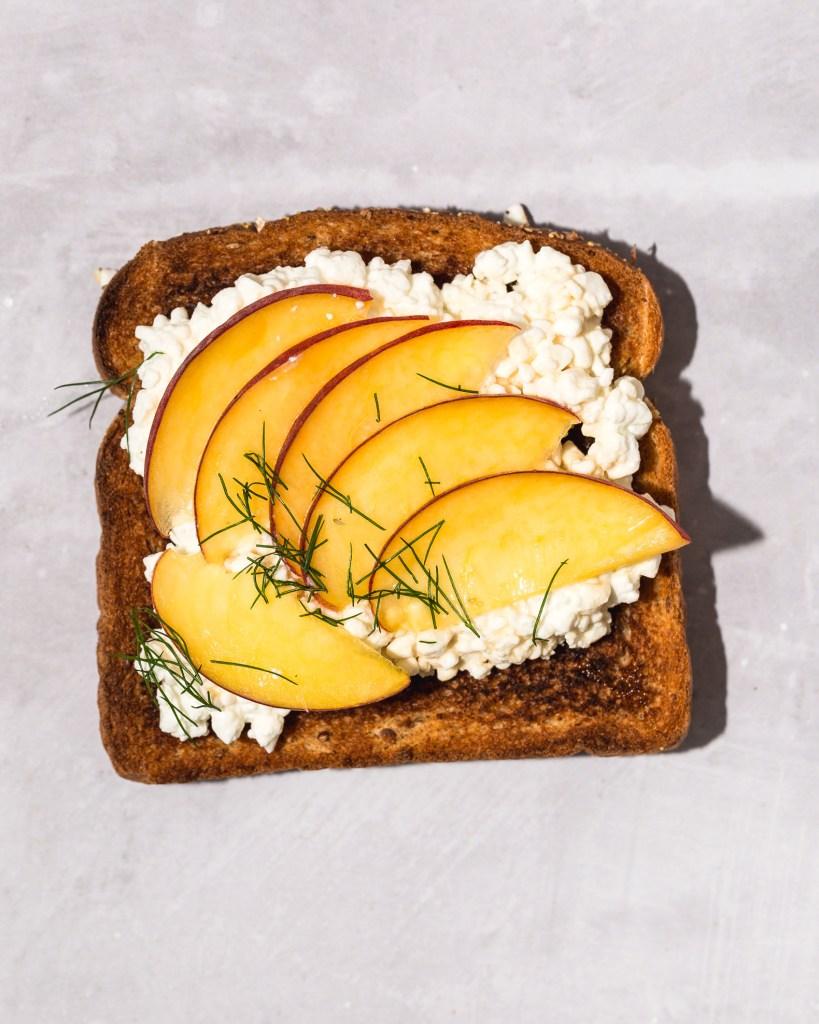 Cottage Cheese Toast