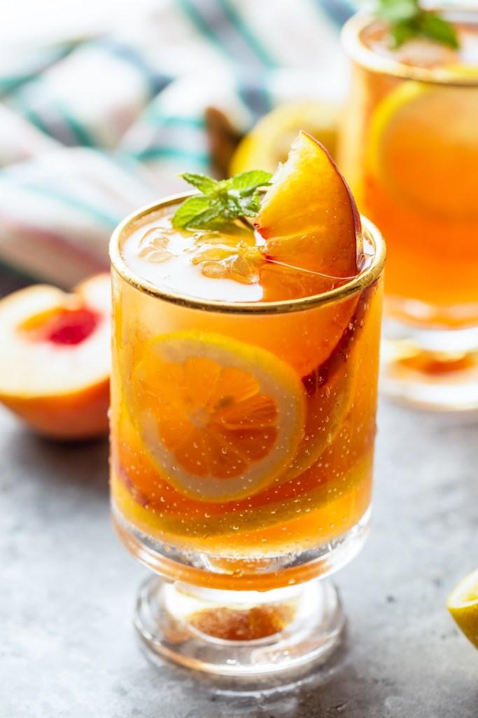 Peach Tea Lemonade Recipe