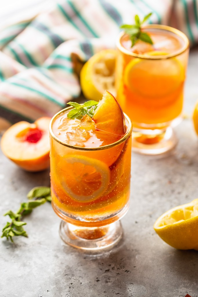 Peach Tea Lemonade