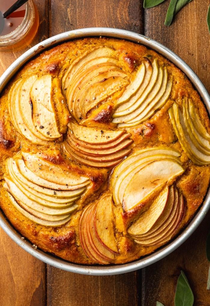 Apple Pumpkin Cornbread