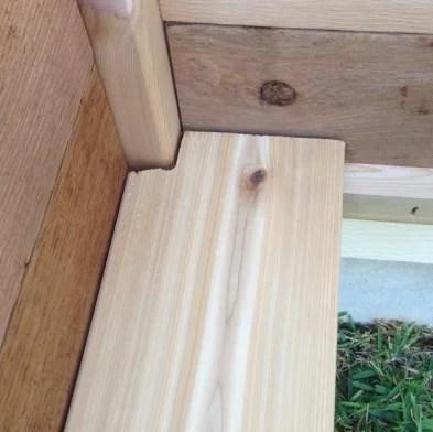 Gronomics Elevated Garden Bed - Bottom Corner Board