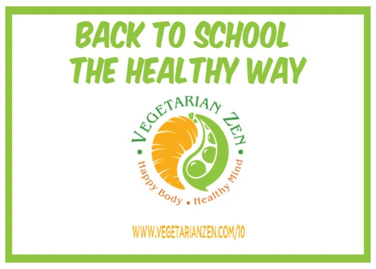 back to school the healthy way