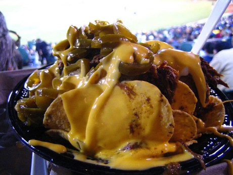 unhealthy nachos