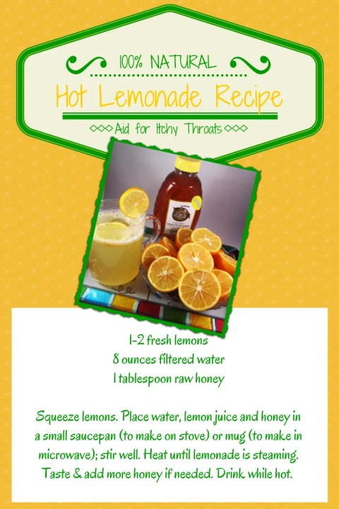 hot lemonade recipe